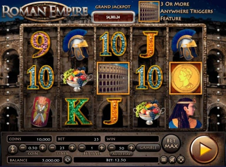 Slot Roman Empire Habanero Gratis
