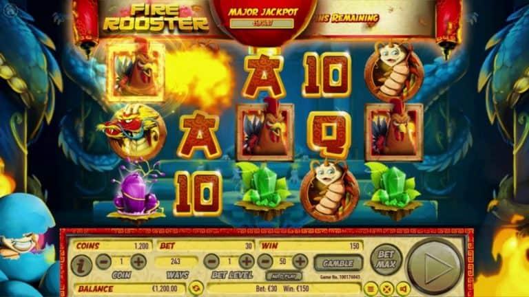 Fire Rooster Slot Gratis